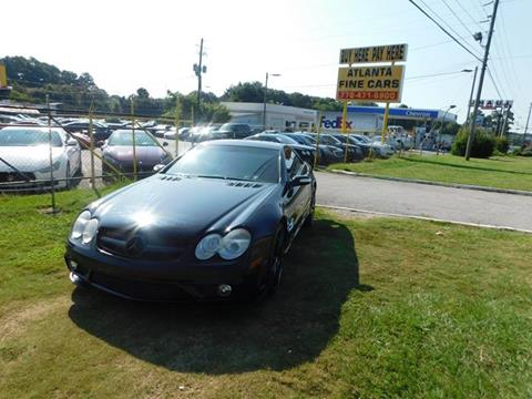 2007 Mercedes-Benz SL-Class for sale at Atlanta Fine Cars in Jonesboro GA