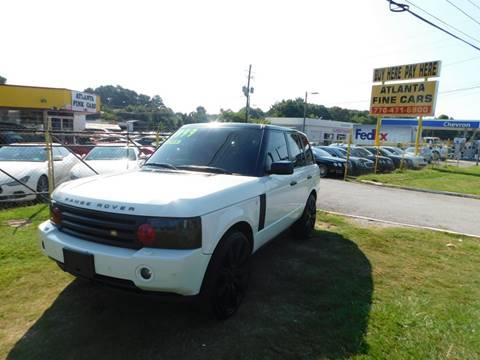 2006 Land Rover Range Rover for sale at Atlanta Fine Cars in Jonesboro GA