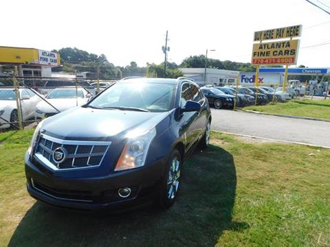 2010 Cadillac SRX for sale at Atlanta Fine Cars in Jonesboro GA