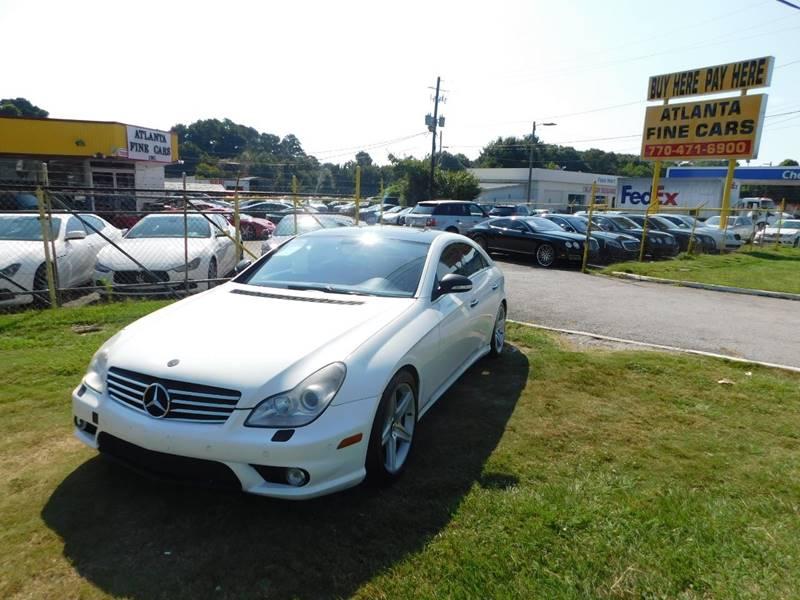 2008 mercedes benz cls cls 550 4dr sedan in jonesboro ga atlanta fine cars. Black Bedroom Furniture Sets. Home Design Ideas