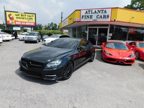 2012 Mercedes-Benz CLS for sale at Atlanta Fine Cars in Jonesboro GA