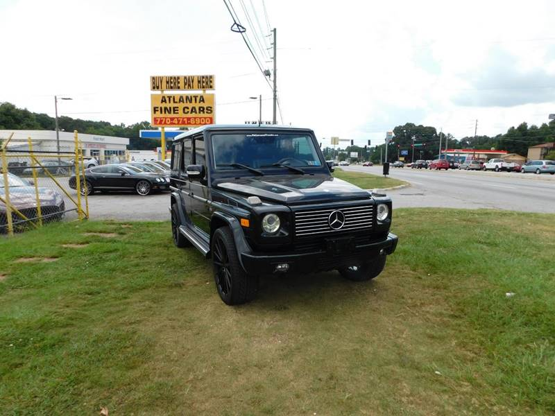 Buy Here Pay Here Atlanta Ga >> 2008 Mercedes Benz G Class Awd G 500 4matic 4dr Suv In