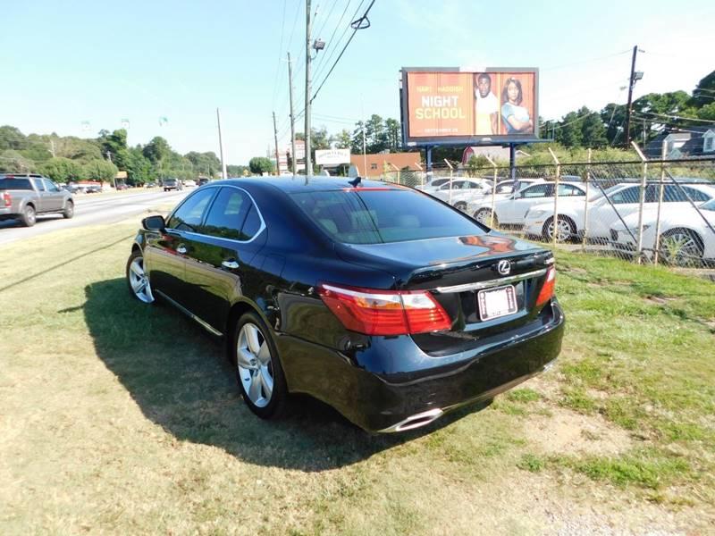 Buy Here Pay Here Atlanta Ga No Credit Check >> 2011 Lexus Ls 460 4dr Sedan In Jonesboro GA - Atlanta Fine Cars