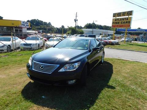 2011 Lexus LS 460 for sale at Atlanta Fine Cars in Jonesboro GA