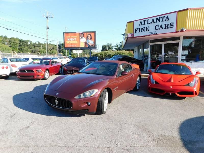 Buy Here Pay Here Atlanta Ga No Credit Check >> 2011 Maserati Granturismo 2dr Convertible In Jonesboro GA - Atlanta Fine Cars