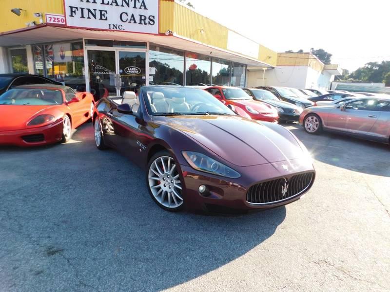 2011 maserati granturismo 2dr convertible in jonesboro ga atlanta fine cars. Black Bedroom Furniture Sets. Home Design Ideas