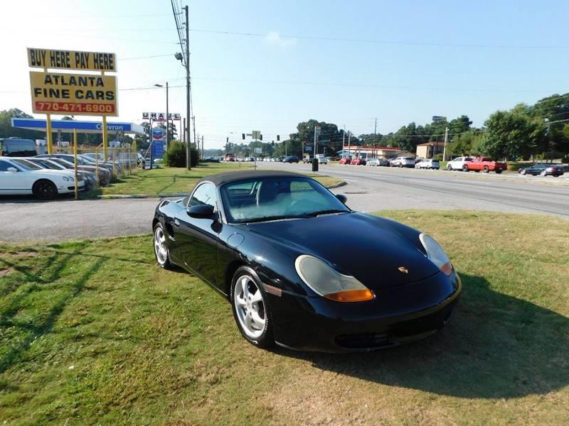 2002 Porsche Boxster 2dr Convertible - Jonesboro GA