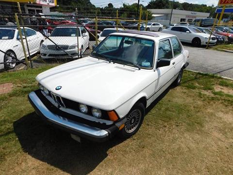 1983 BMW 3 Series for sale at Atlanta Fine Cars in Jonesboro GA