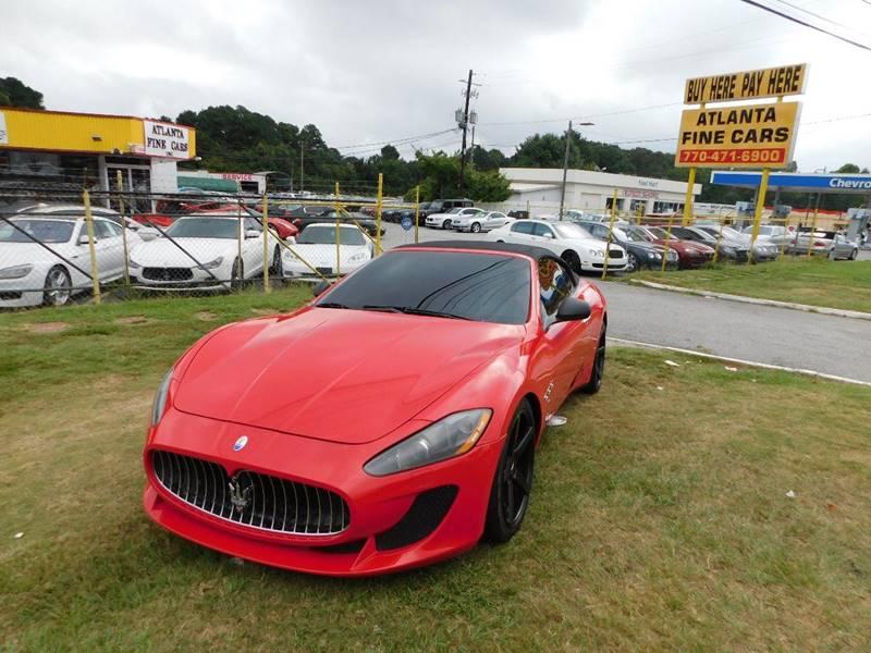 2010 Maserati GranTurismo for sale at Atlanta Fine Cars in Jonesboro GA