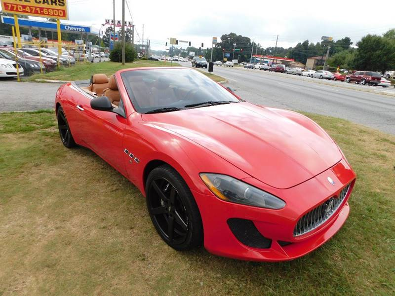 2010 maserati granturismo 2dr convertible in jonesboro ga atlanta fine cars. Black Bedroom Furniture Sets. Home Design Ideas
