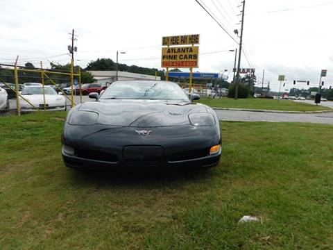 2003 Chevrolet Corvette for sale at Atlanta Fine Cars in Jonesboro GA