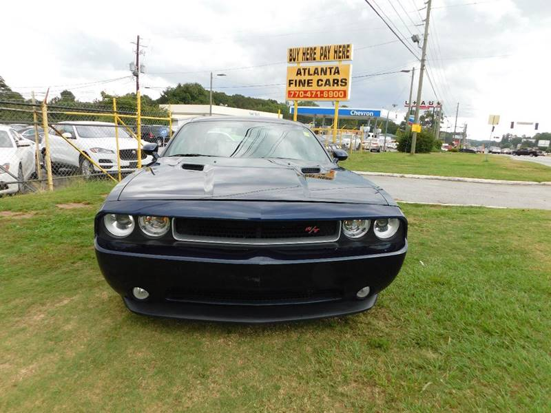 Buy Here Pay Here Atlanta Ga >> 2013 Dodge Challenger R T Plus 2dr Coupe In Jonesboro Ga
