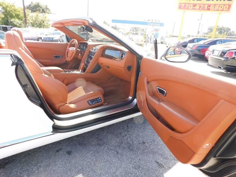 2014 Bentley Continental AWD GT V8 2dr Convertible - Jonesboro GA