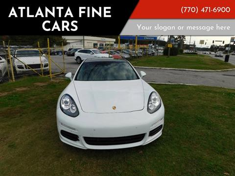 2014 Porsche Panamera for sale at Atlanta Fine Cars in Jonesboro GA