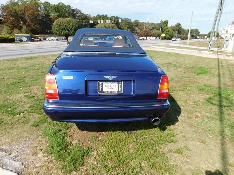 2000 Bentley Azure 2dr Turbo Convertible - Jonesboro GA