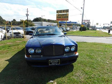 2000 Bentley Azure for sale at Atlanta Fine Cars in Jonesboro GA