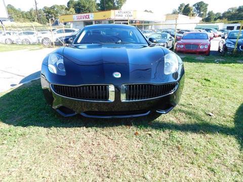 2012 Fisker Karma for sale at Atlanta Fine Cars in Jonesboro GA