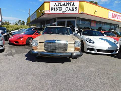 1975 Mercedes-Benz 280-Class for sale in Jonesboro, GA