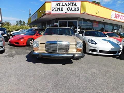 1975 Mercedes-Benz 280-Class for sale at Atlanta Fine Cars in Jonesboro GA