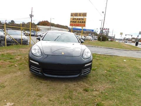 2015 Porsche Panamera for sale at Atlanta Fine Cars in Jonesboro GA