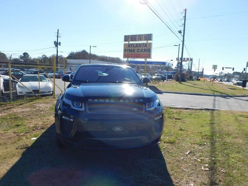 2017 Land Rover Range Rover Evoque Convertible AWD HSE Dynamic 2dr Convertible - Jonesboro GA