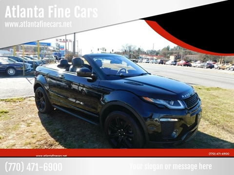 2017 Land Rover Range Rover Evoque Convertible for sale in Jonesboro, GA