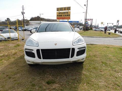 2010 Porsche Cayenne for sale at Atlanta Fine Cars in Jonesboro GA