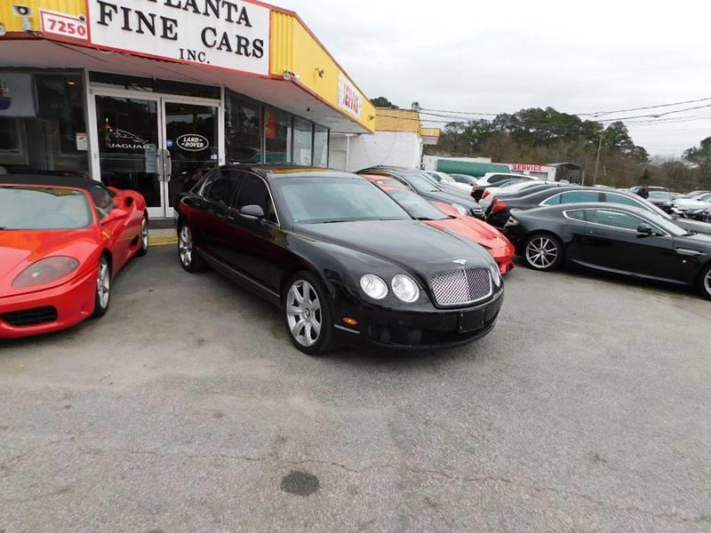 2009 Bentley Continental AWD Flying Spur 4dr Sedan - Jonesboro GA