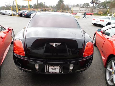 2009 bentley continental awd flying spur 4dr sedan in jonesboro ga atlanta fine cars. Black Bedroom Furniture Sets. Home Design Ideas
