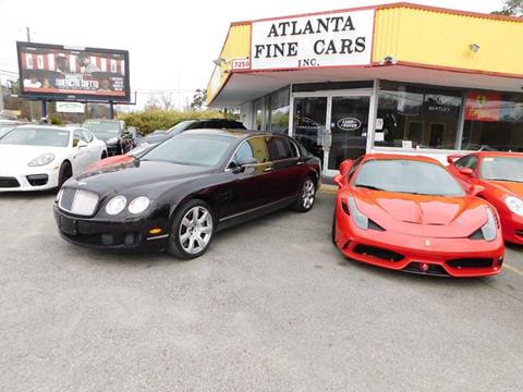 2009 Bentley Continental for sale at Atlanta Fine Cars in Jonesboro GA