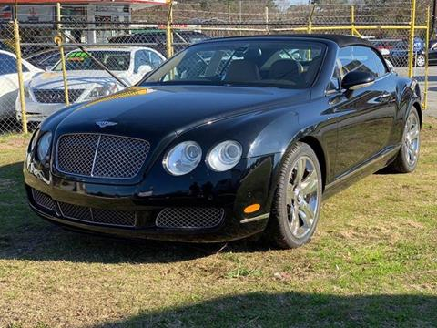 2007 Bentley Continental for sale at Atlanta Fine Cars in Jonesboro GA