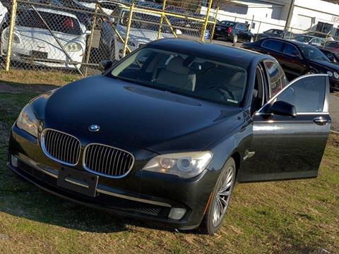 2012 BMW 7 Series for sale at Atlanta Fine Cars in Jonesboro GA