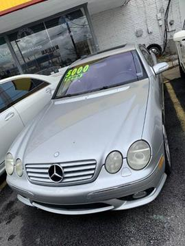 2003 Mercedes-Benz CL-Class for sale at Atlanta Fine Cars in Jonesboro GA