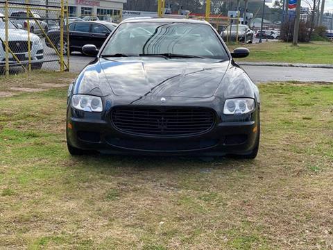 2007 Maserati Quattroporte for sale at Atlanta Fine Cars in Jonesboro GA