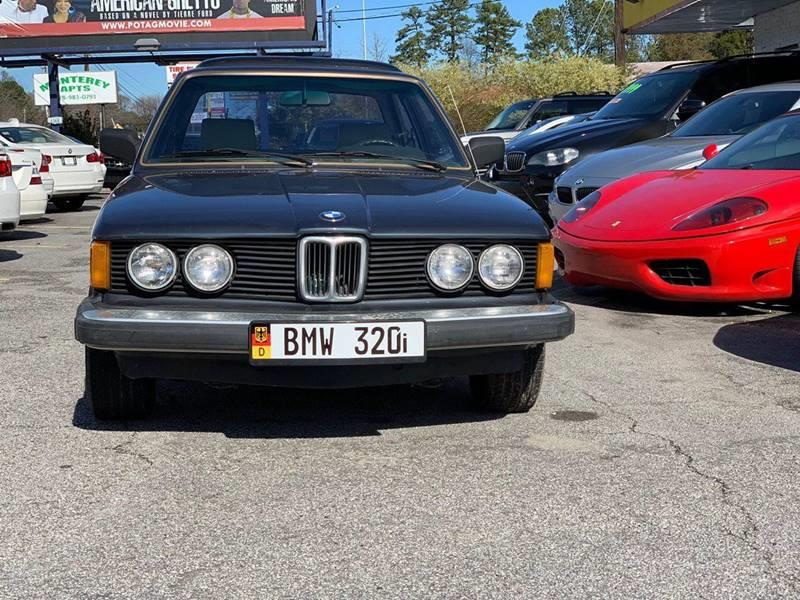 Buy Here Pay Here Atlanta Ga >> 1982 Bmw 3 Series 320i 2dr Coupe In Jonesboro GA - Atlanta Fine Cars