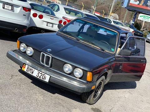 1982 BMW 3 Series for sale at Atlanta Fine Cars in Jonesboro GA