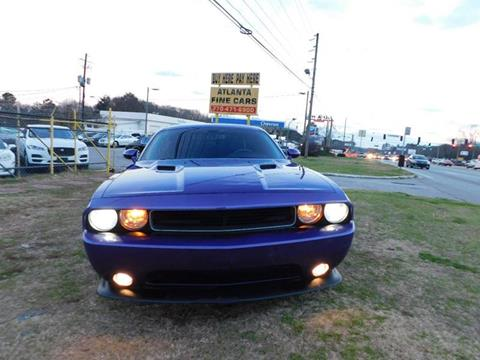 2014 Dodge Challenger for sale at Atlanta Fine Cars in Jonesboro GA