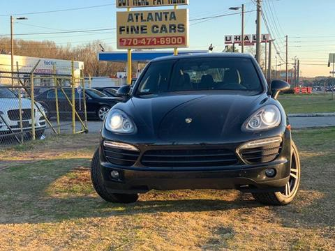 2011 Porsche Cayenne for sale at Atlanta Fine Cars in Jonesboro GA