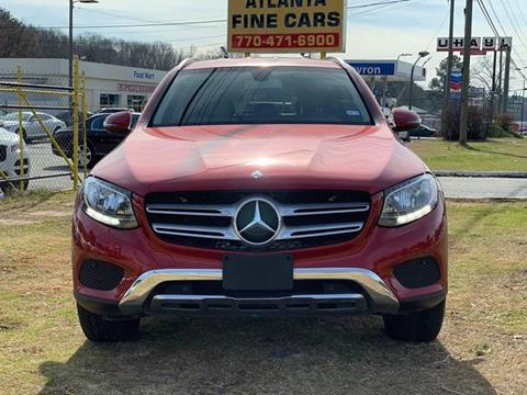 2016 Mercedes-Benz GLC for sale at Atlanta Fine Cars in Jonesboro GA