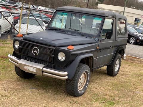 1985 Mercedes-Benz 300-Class for sale at Atlanta Fine Cars in Jonesboro GA