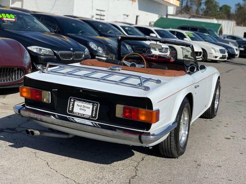 1975 Triumph Tr6 In Jonesboro GA - Atlanta Fine Cars