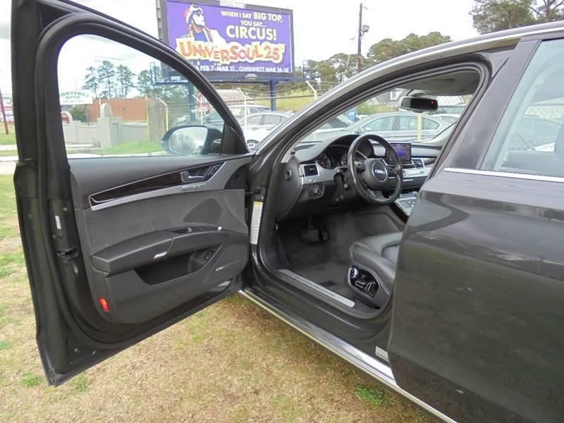 2011 Audi A8 AWD quattro 4dr Sedan - Jonesboro GA