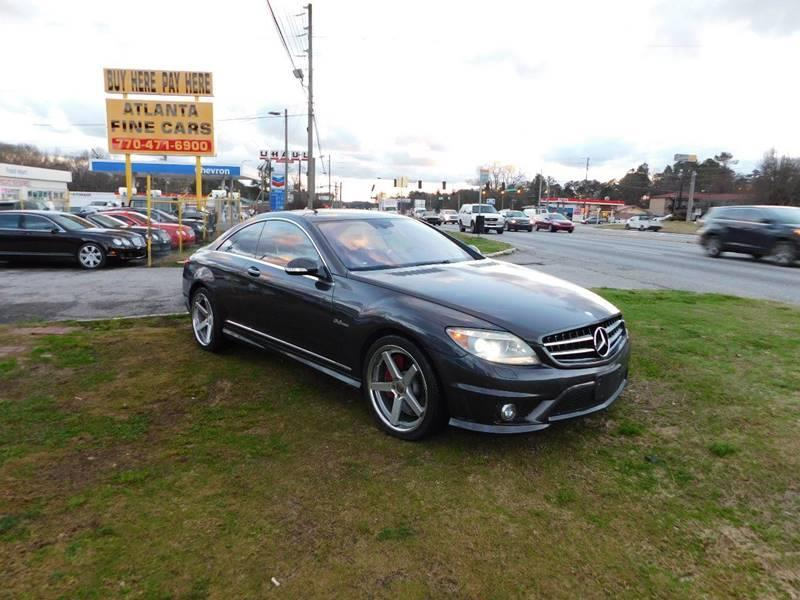 2008 Mercedes-Benz CL-Class CL 63 AMG 2dr Coupe - Jonesboro GA