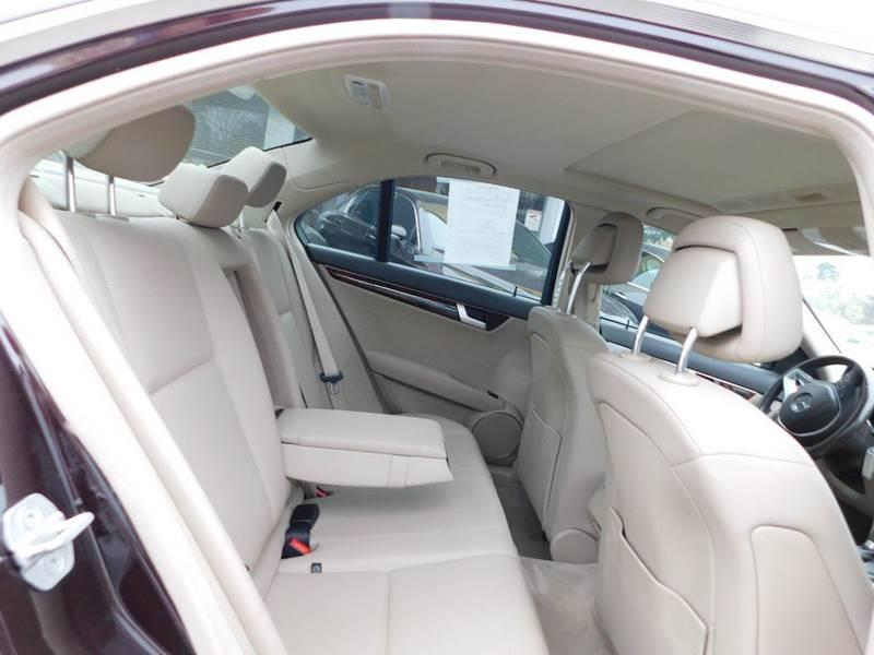 2012 Mercedes-Benz C-Class AWD C 300 Luxury 4MATIC 4dr Sedan - Jonesboro GA
