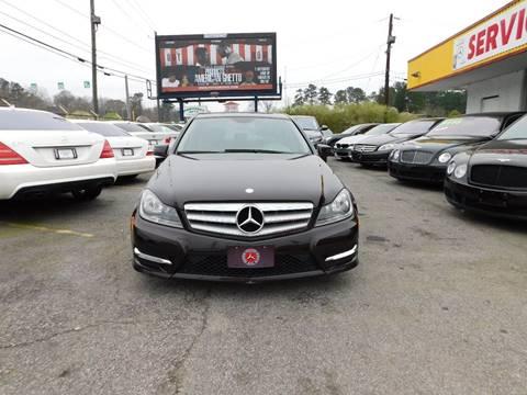 2012 Mercedes-Benz C-Class for sale in Jonesboro, GA