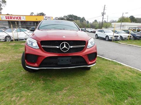2016 Mercedes-Benz GLE for sale at Atlanta Fine Cars in Jonesboro GA