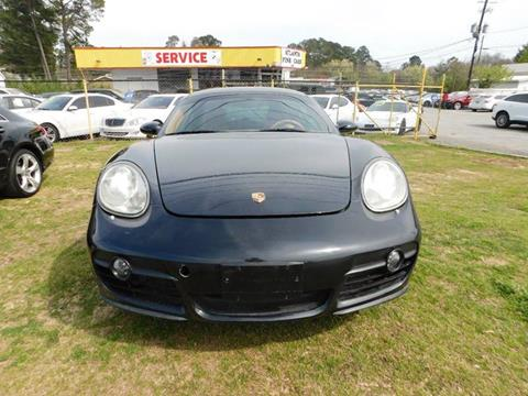 2007 Porsche Cayman for sale at Atlanta Fine Cars in Jonesboro GA