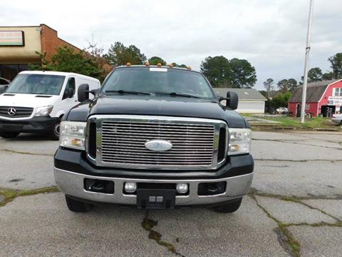 2006 Ford F-350 Super Duty for sale at Atlanta Fine Cars in Jonesboro GA