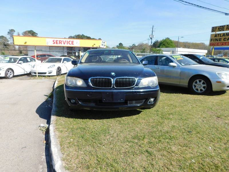 2006 Bmw 7 Series 750Li 4dr Sedan In Jonesboro GA - Atlanta Fine Cars