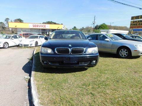 2006 BMW 7 Series for sale at Atlanta Fine Cars in Jonesboro GA